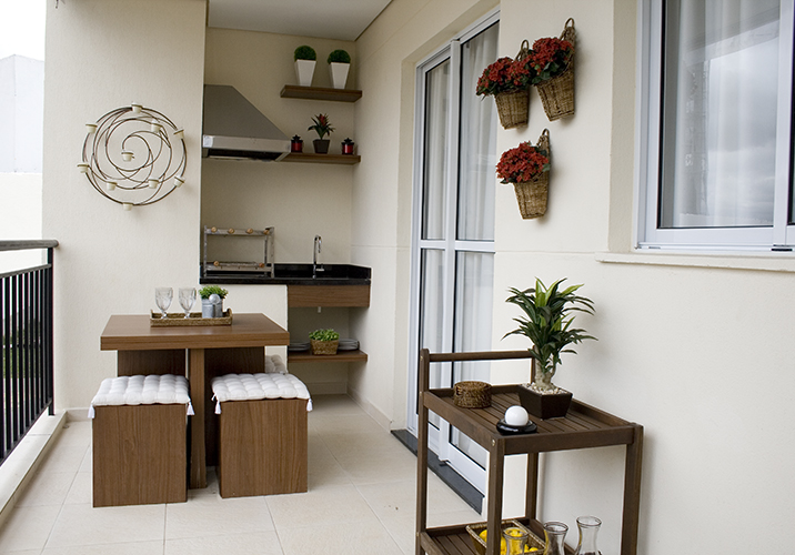 Apartamento decorado do Essence Guarulhos