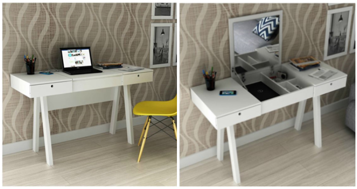Mesa multifuncional para home office